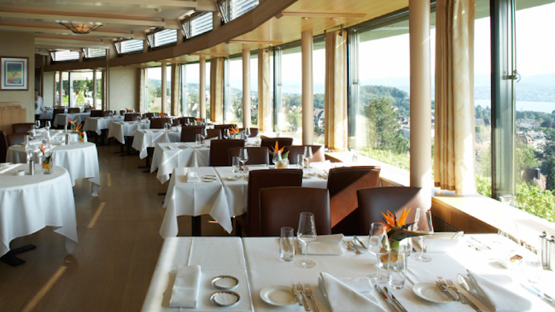 restaurants with views in zurich