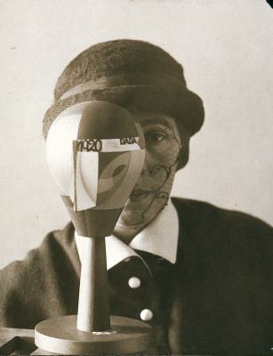Aluf Nic_Portrait of Sophie Taeuber with Dada Head 2
