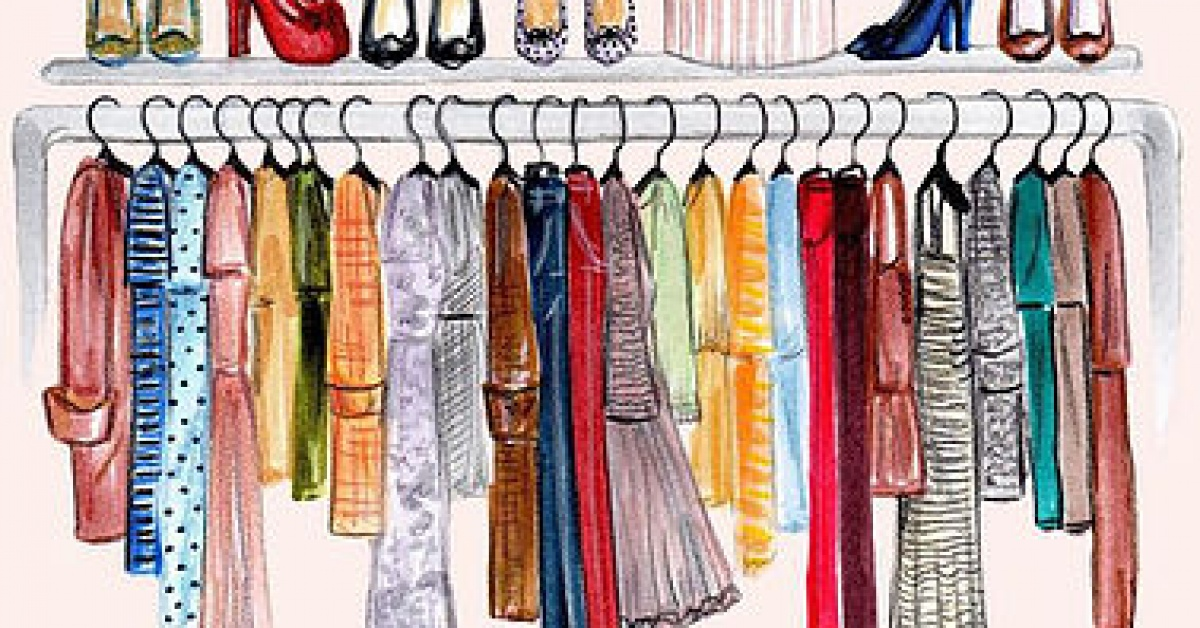 Clean out your closet girlfriend guide to - Cleaning out your closet ...